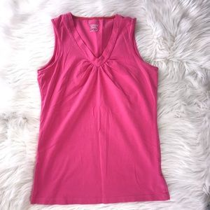 Columbia Sports Wear Pink Tank Top Size S